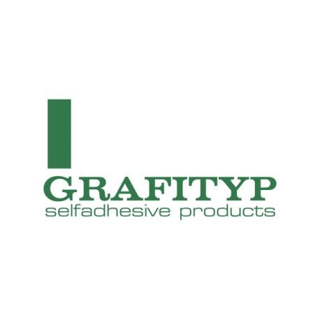Grafityp Monomère 100 µ Brillant Enlevable Colle Grise