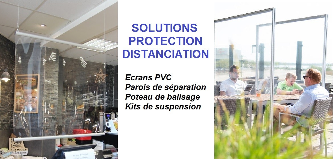 Solutions Protection Distanciation