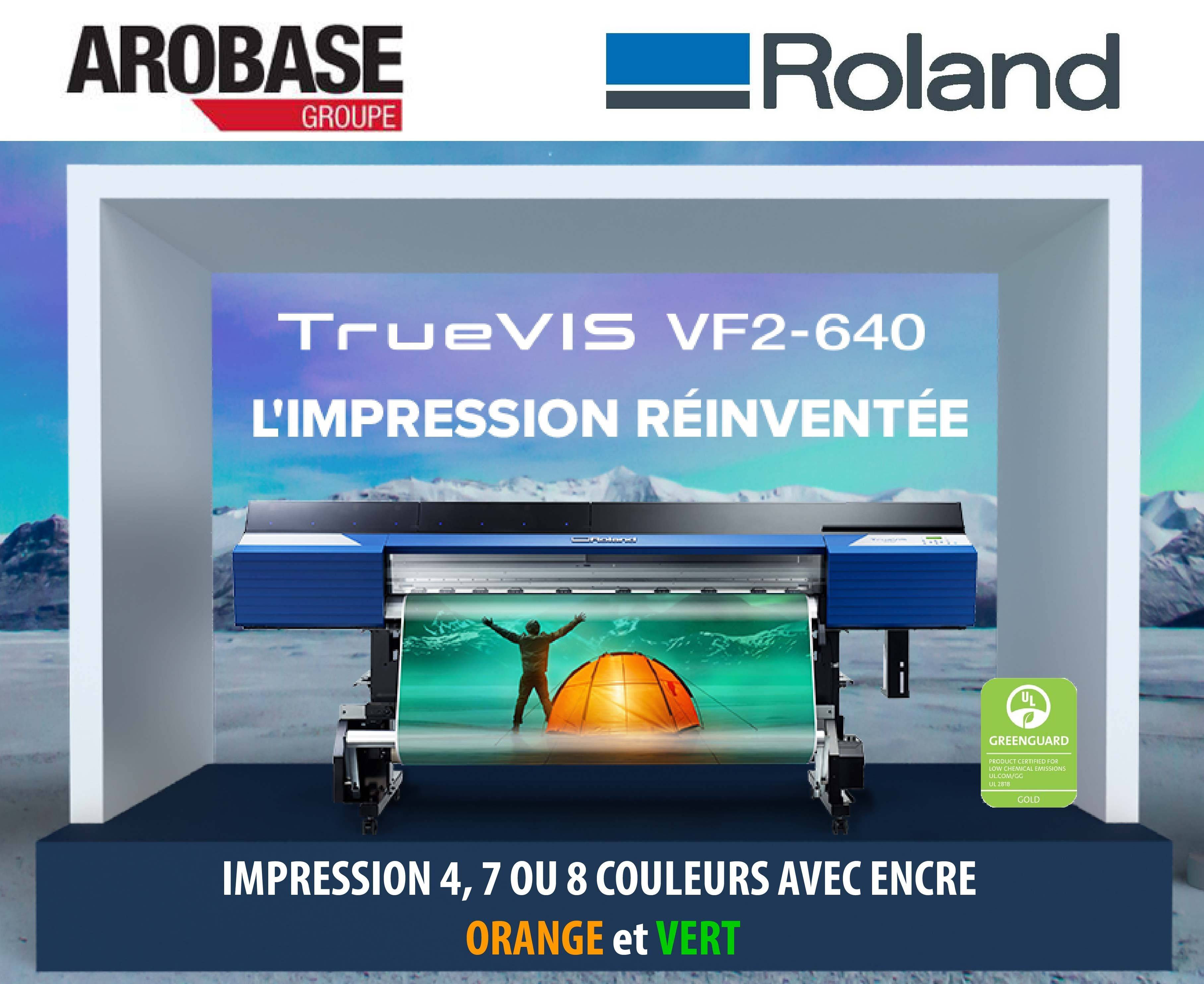 Imprimante Roland True VIS VF2-640