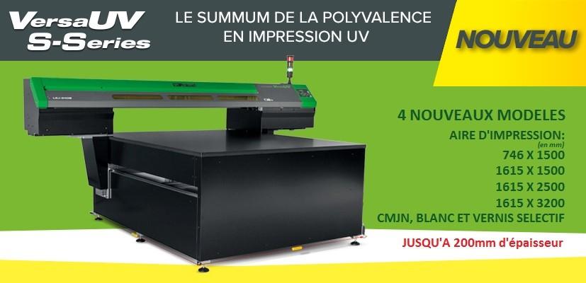 Nouvelles flatbed Roland UV